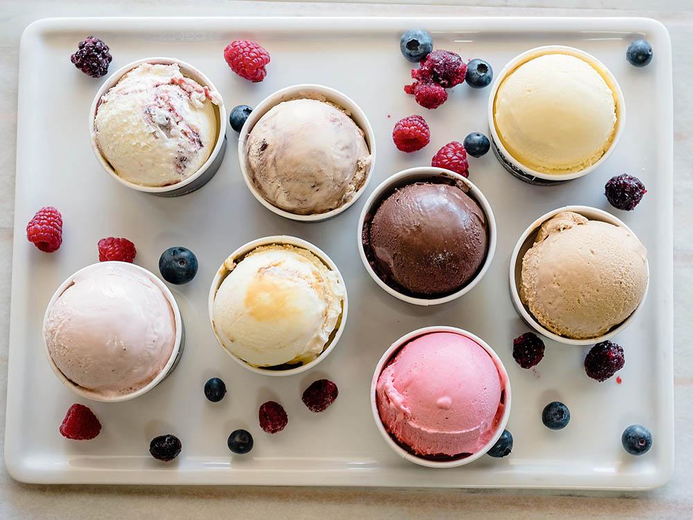 Maleny Food Co gelato varieties